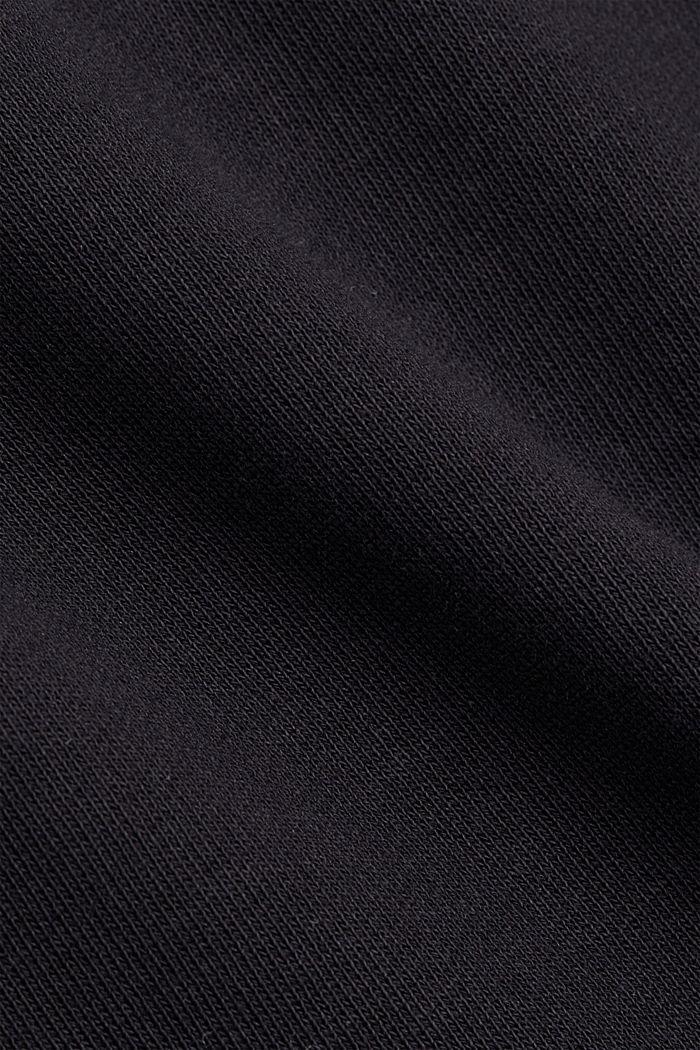 Sweatrok van 100% biologisch katoen, BLACK, detail image number 4