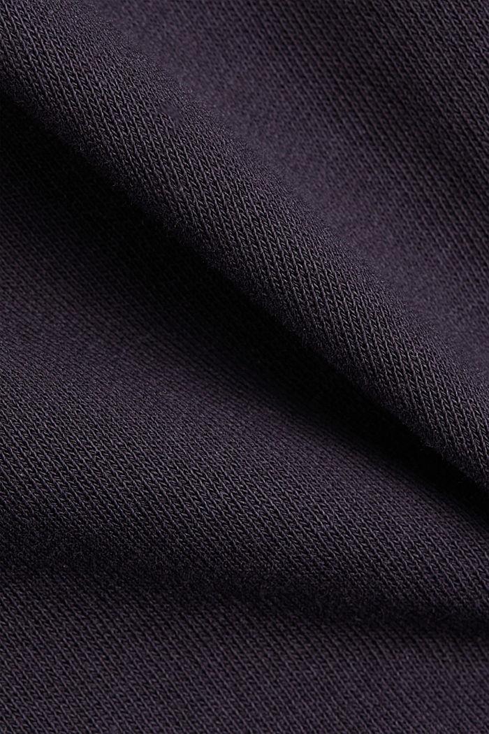 Sweatshirt skirt in 100% organic cotton, NAVY, detail image number 4