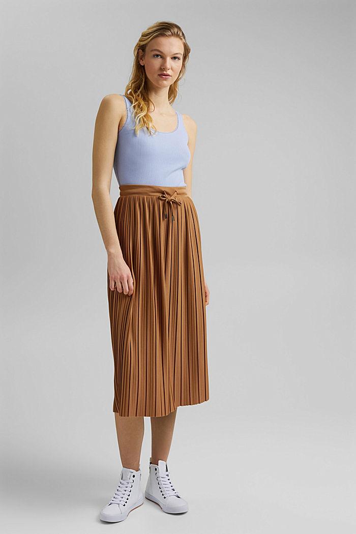 Fashion Skirt, CARAMEL, detail image number 6