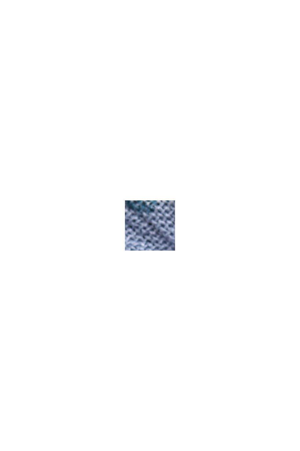 Blousejurk met gesmokte details, LENZING™ ECOVERO™, LIGHT BLUE LAVENDER, swatch