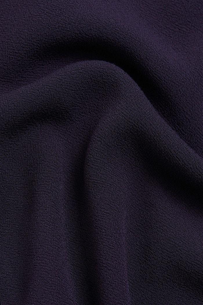 Blousejurk van LENZING™ ECOVERO™, NAVY, detail image number 4