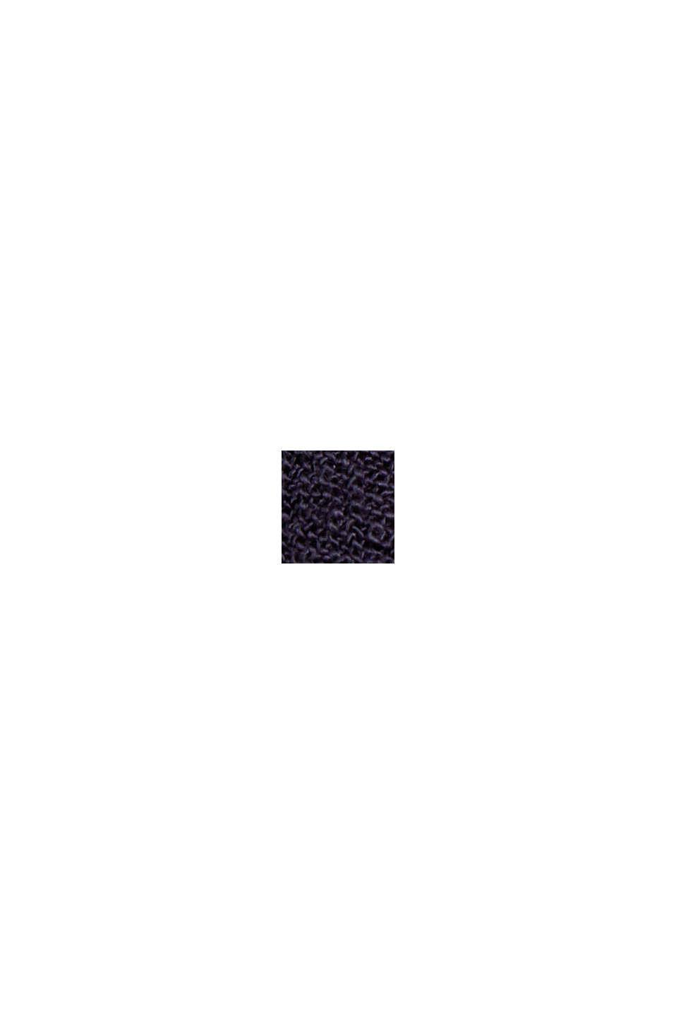 Blusenkleid aus LENZING™ ECOVERO™, NAVY, swatch