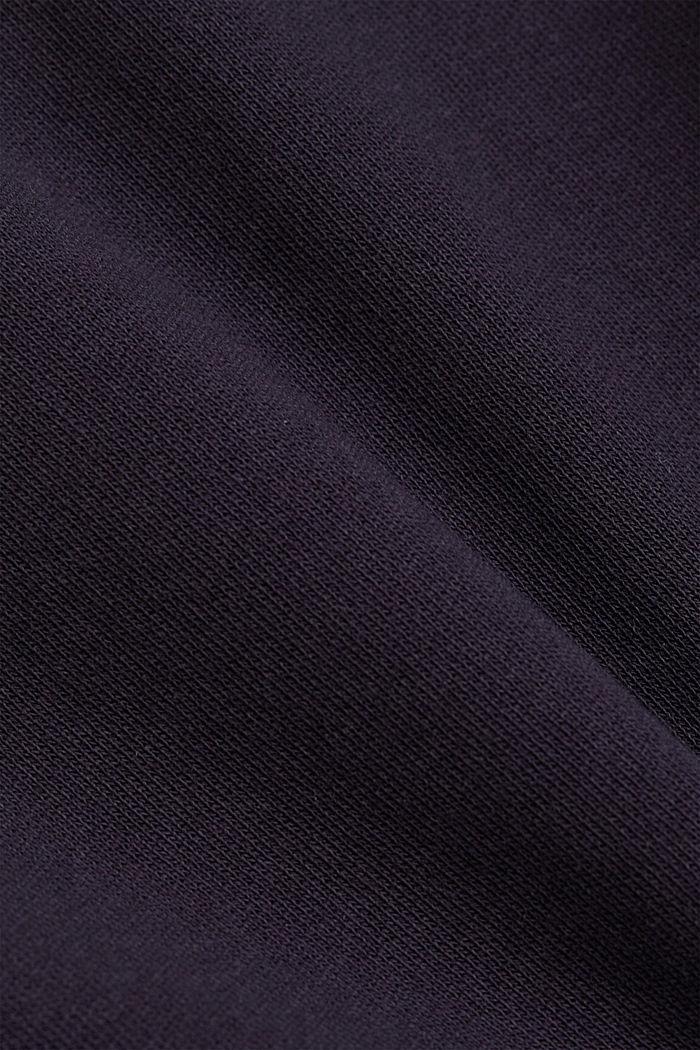 Sweatshirt dress made of organic cotton, NAVY, detail image number 4