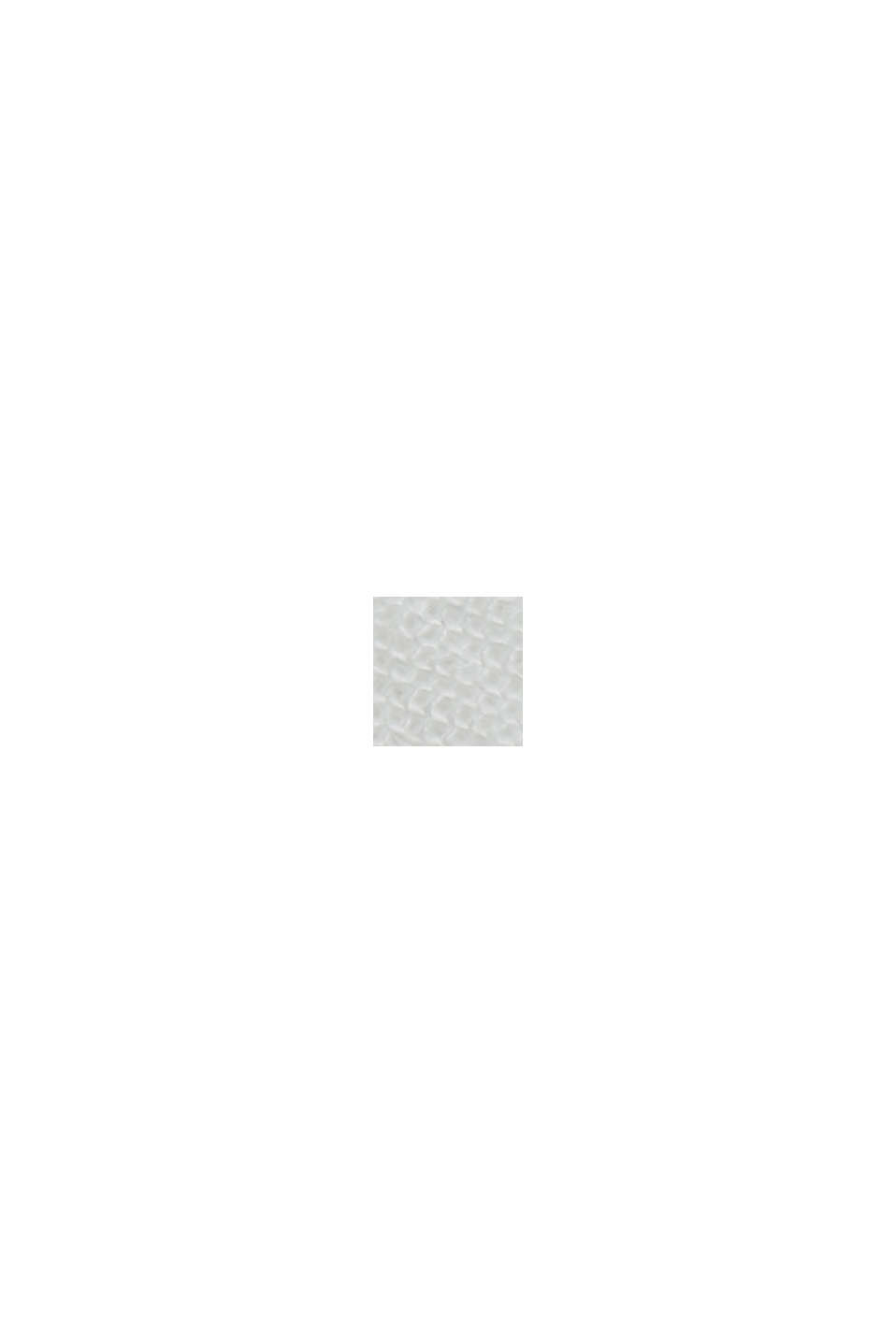 Peplum-Bluse mit Smok, LENZING™ ECOVERO™, OFF WHITE, swatch