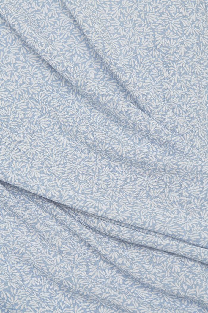 Blouse top made of LENZING™ ECOVERO™, LIGHT BLUE LAVENDER, detail image number 4