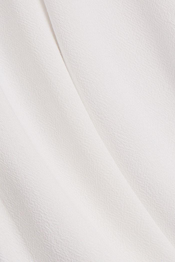 Blousetop van LENZING™ ECOVERO™, OFF WHITE, detail image number 4