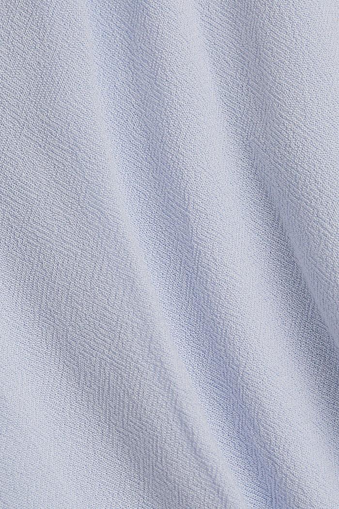 Haut façon blouse en LENZING™ ECOVERO™, LIGHT BLUE LAVENDER, detail image number 4