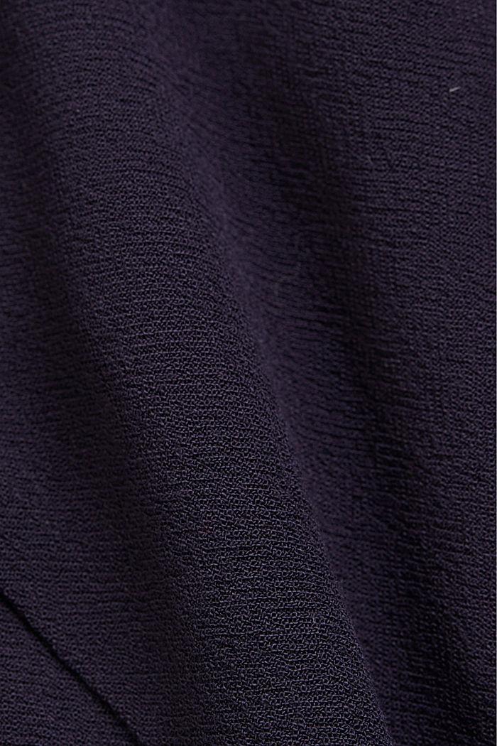 Blusen-Top aus LENZING™ ECOVERO™, NAVY, detail image number 4