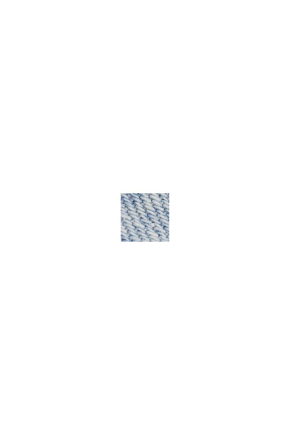 Linen/organic cotton: lightweight denim jacket, BLUE LIGHT WASHED, swatch
