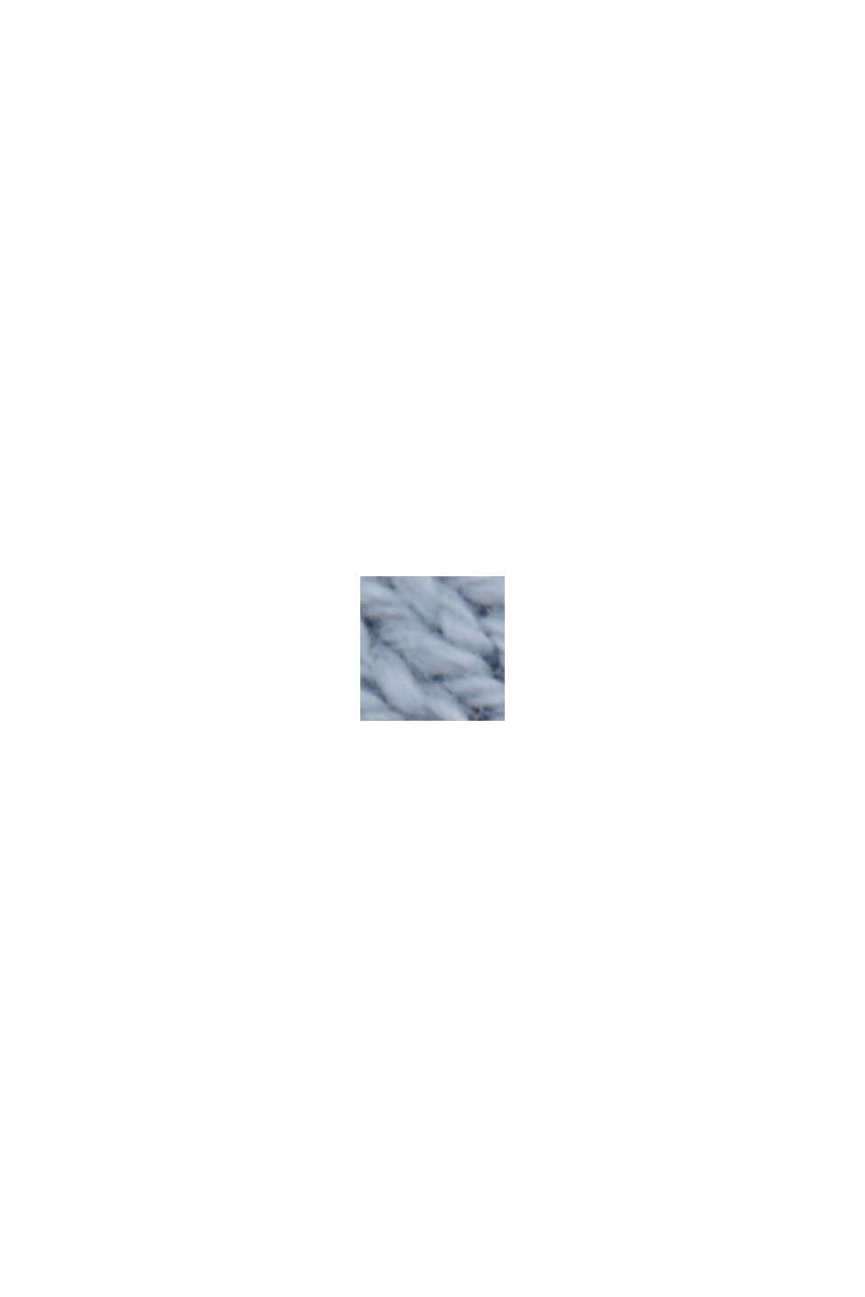 Linnen/biologisch katoen: vest met V-hals, LIGHT BLUE LAVENDER, swatch