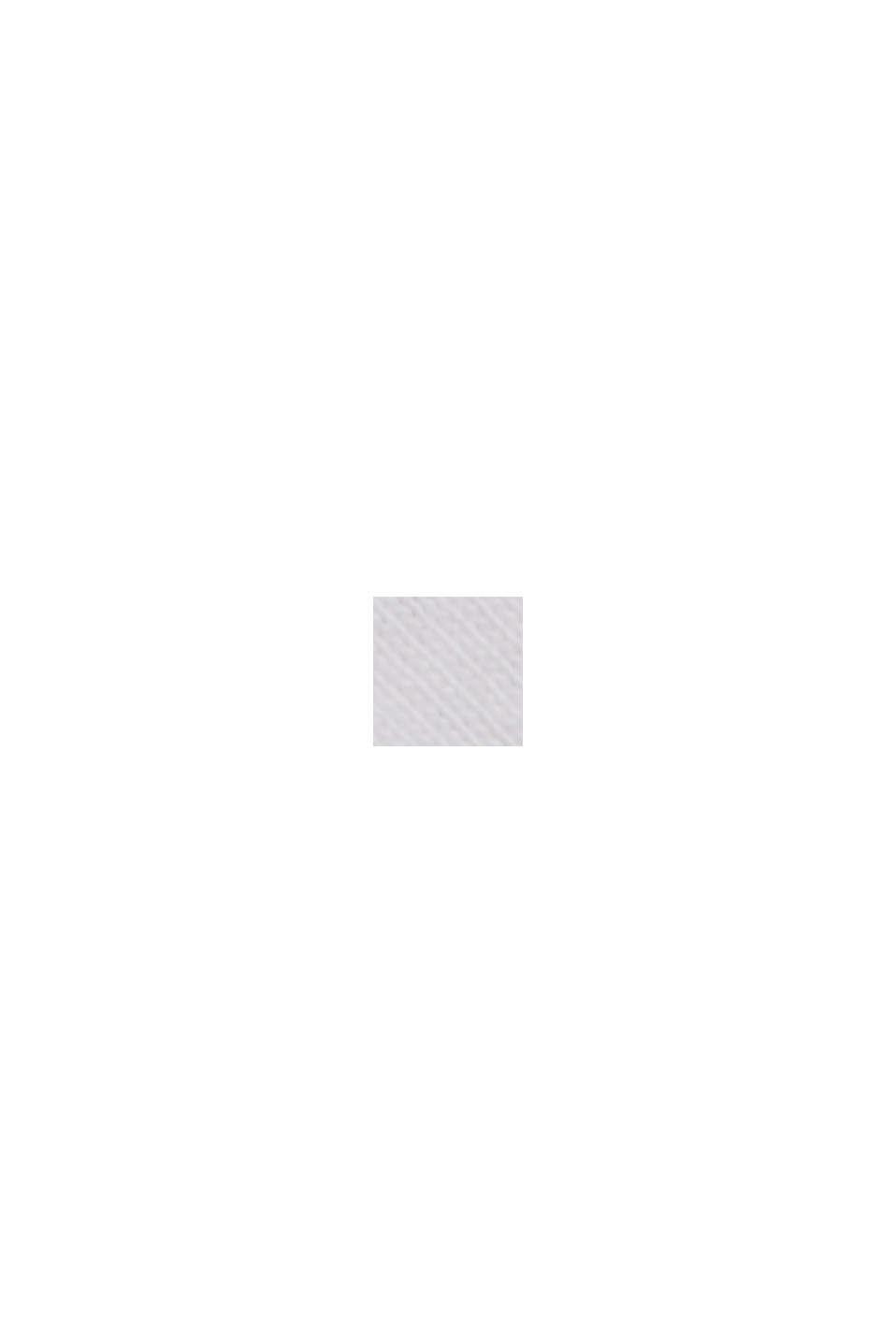 Maglia con stampa floreale in cotone biologico, WHITE, swatch