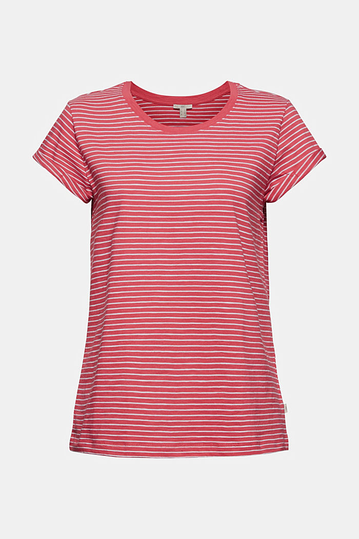 Basic striped top, organic cotton