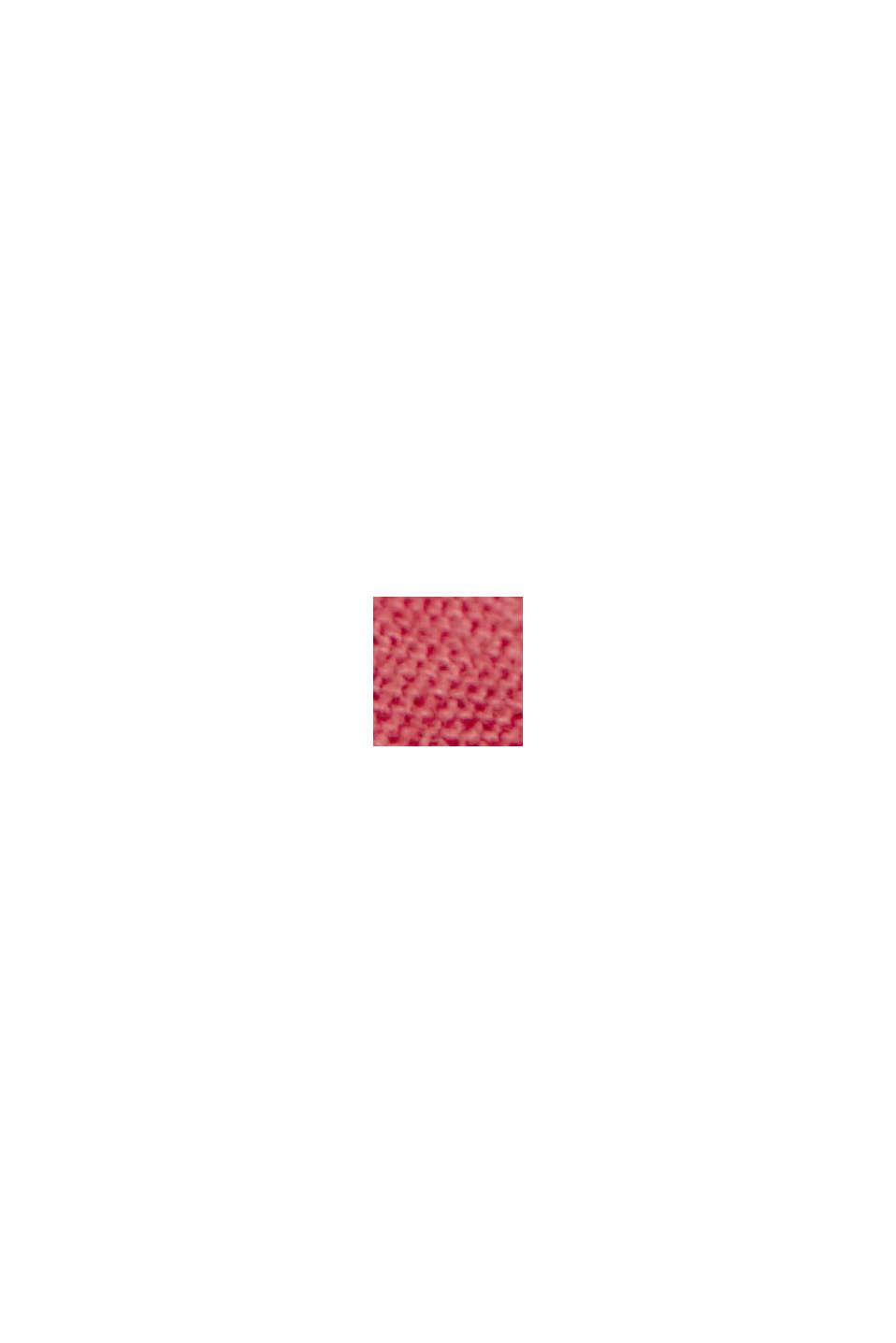 Maglia con pizzo sangallo, cotone biologico, BLUSH, swatch