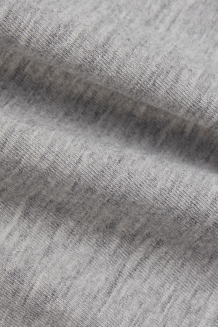 Print t-shirt with organic cotton, LIGHT GREY, detail image number 4
