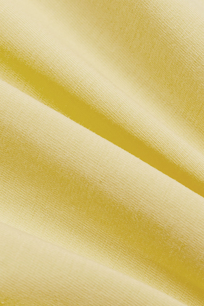 Spaghetti-Top mit Bio-Baumwolle, LIGHT YELLOW, detail image number 4