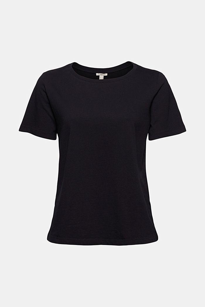 Basic T-Shirt aus 100% Organic Cotton, BLACK, detail image number 5