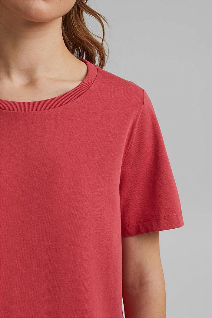 Basic T-Shirt aus 100% Organic Cotton, BLUSH, detail image number 2