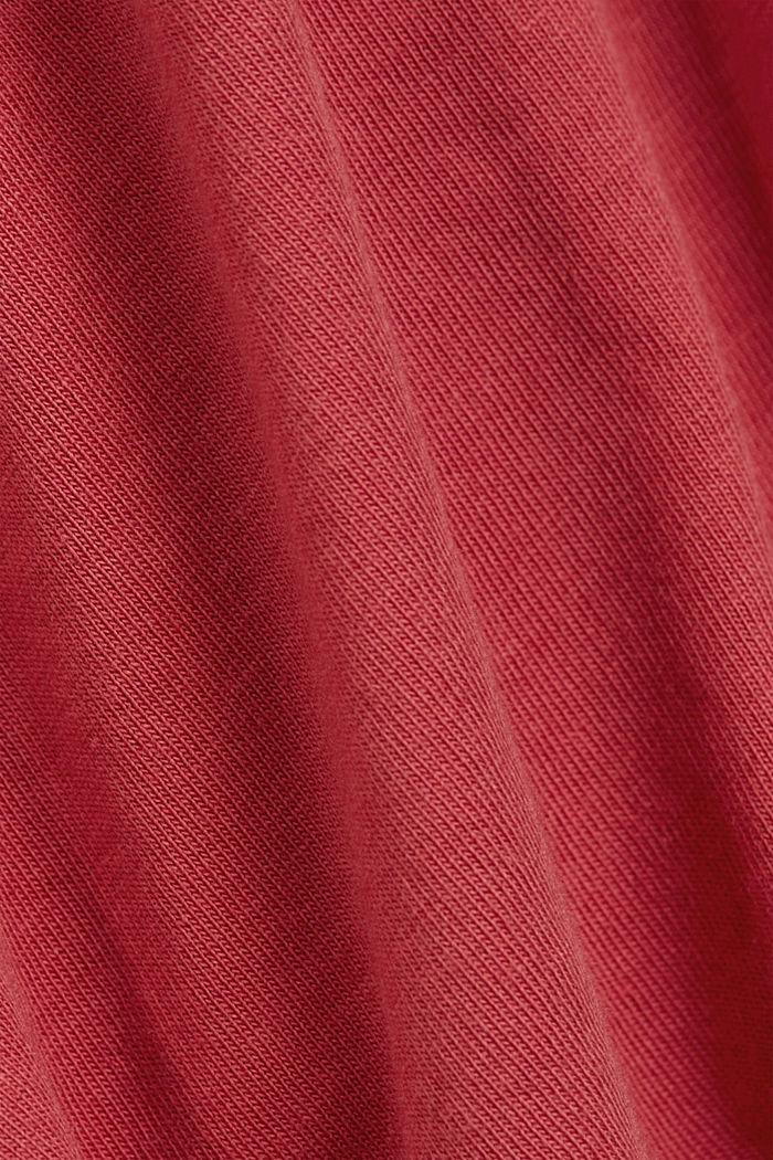 Basic T-Shirt aus 100% Organic Cotton, BLUSH, detail image number 4