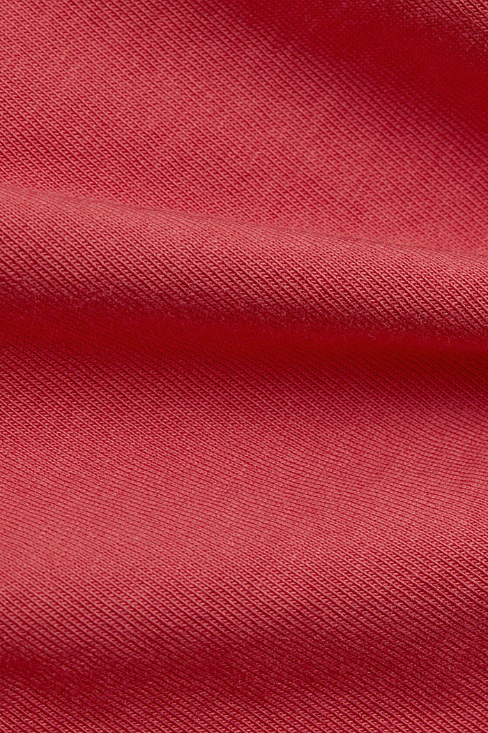V-neck T-shirt in 100% organic cotton, BLUSH, detail image number 4