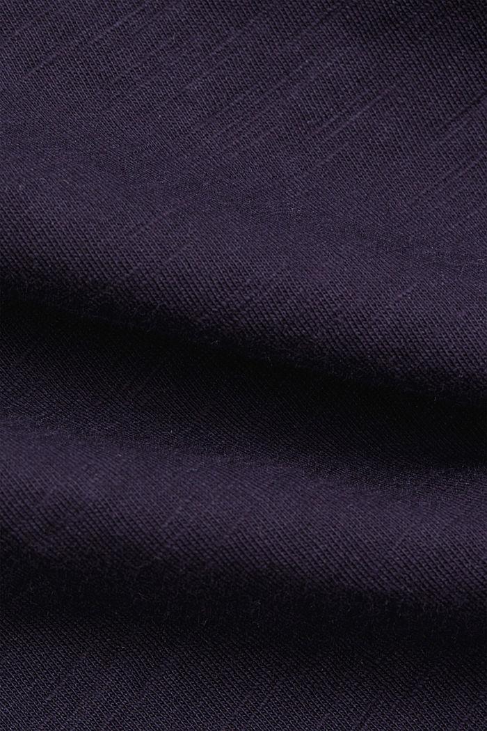 Basic T-shirt made of 100% organic cotton, NAVY, detail image number 4