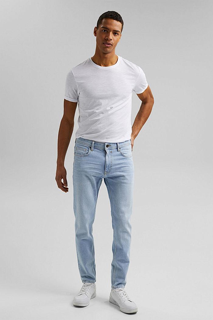 Pants denim, BLUE BLEACHED, detail image number 4