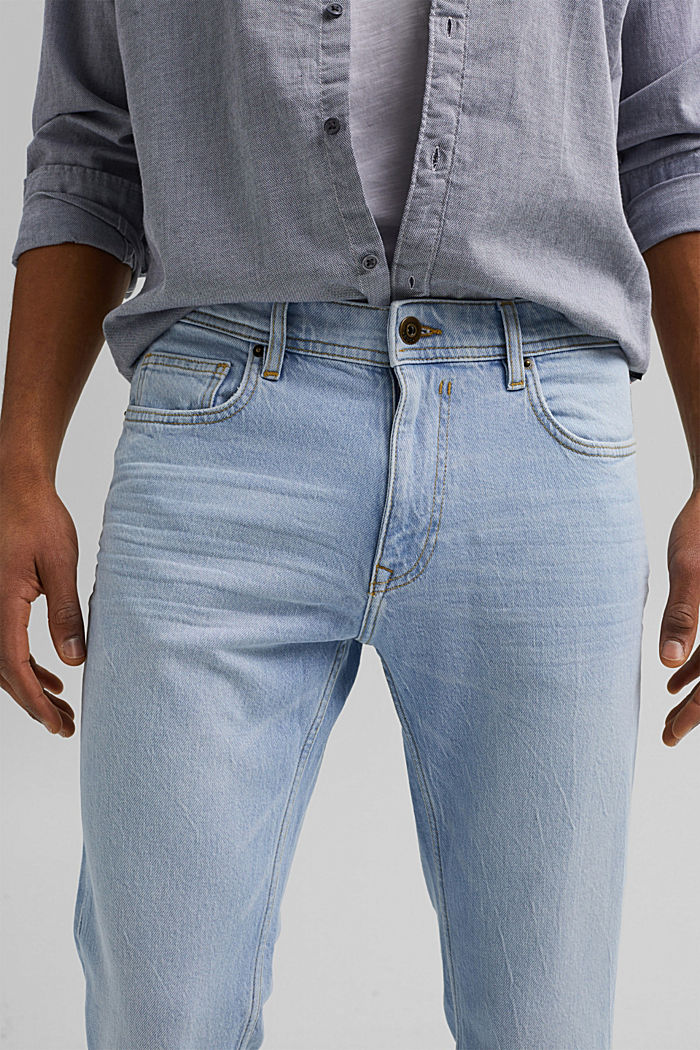 Pants denim, BLUE BLEACHED, detail image number 3