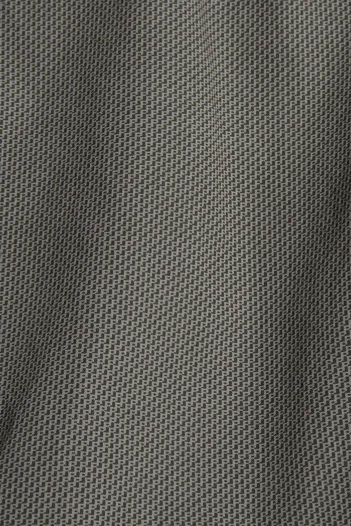 Print-Shorts aus Organic Cotton, DARK GREY, detail image number 4
