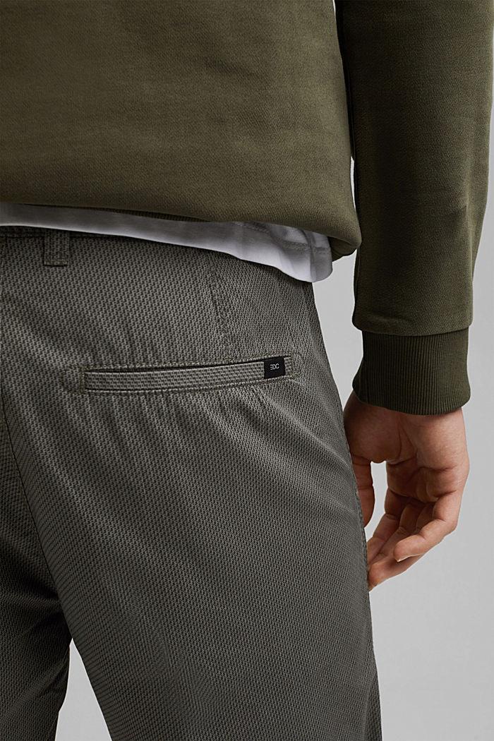 Print-Shorts aus Organic Cotton, DARK GREY, detail image number 5