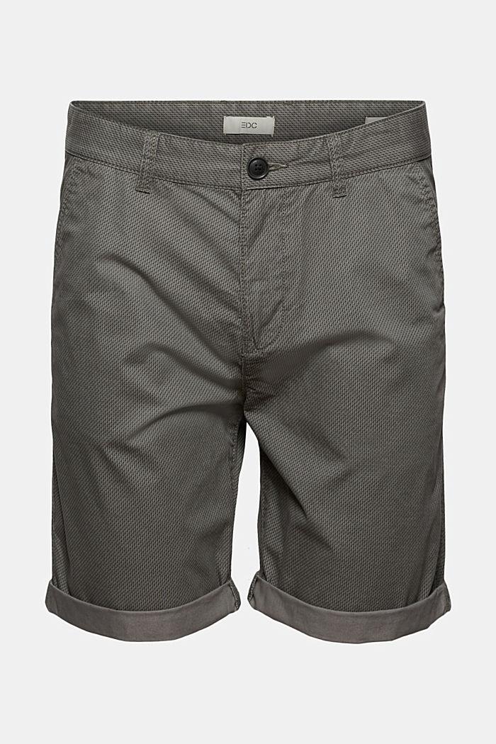 Print-Shorts aus Organic Cotton