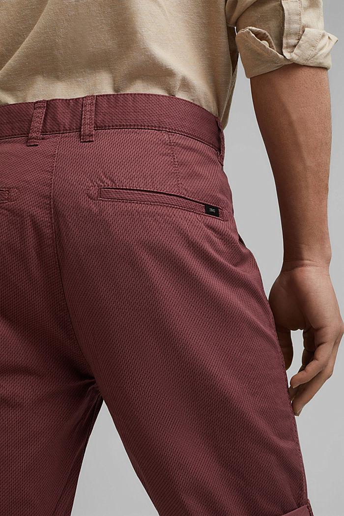 Print-Shorts aus Organic Cotton, BERRY PURPLE, detail image number 5