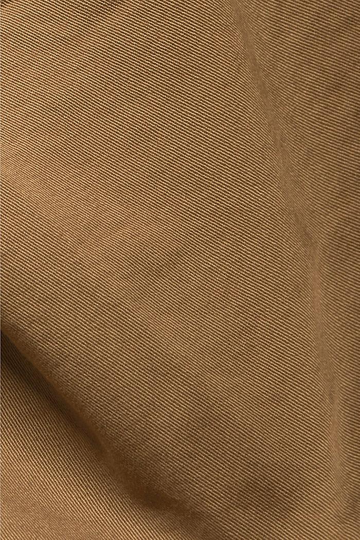 Cargo-Shorts mit Gummizugbund, CAMEL, detail image number 4