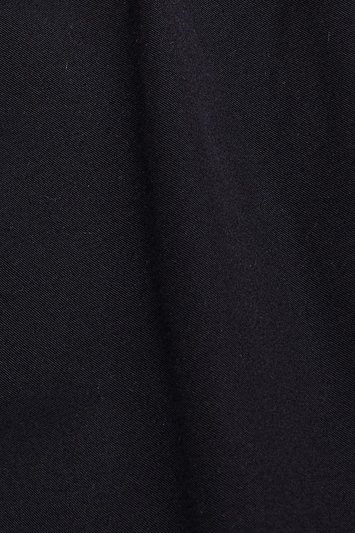 Pantalón corto con cordón elástico, 100 % algodón ecológico, BLACK, detail image number 4
