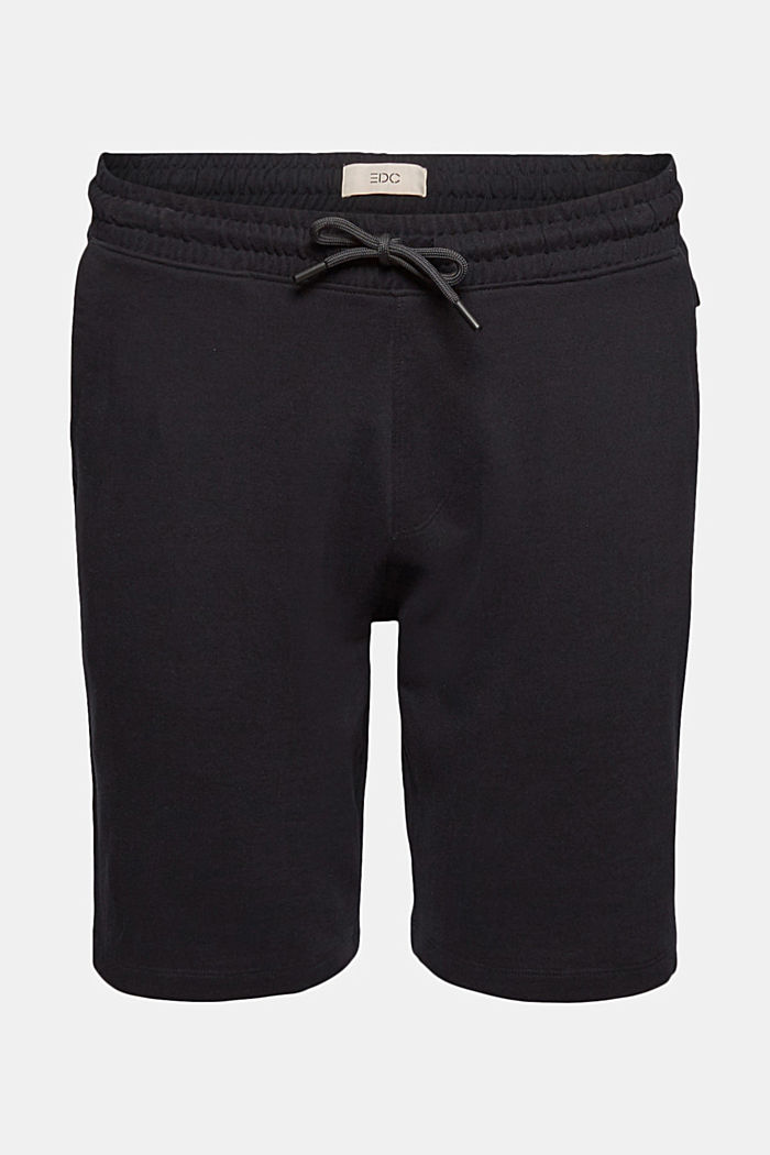Sweat-Shorts aus 100% Organic Cotton, BLACK, detail image number 7