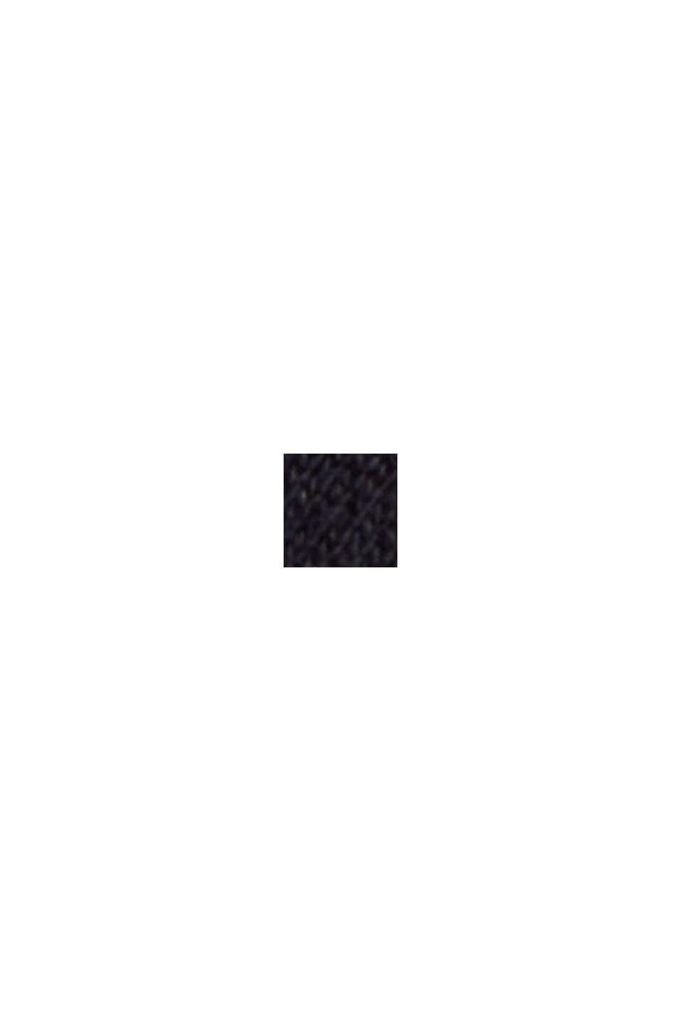 Sweatshort van 100% organic cotton, BLACK, swatch