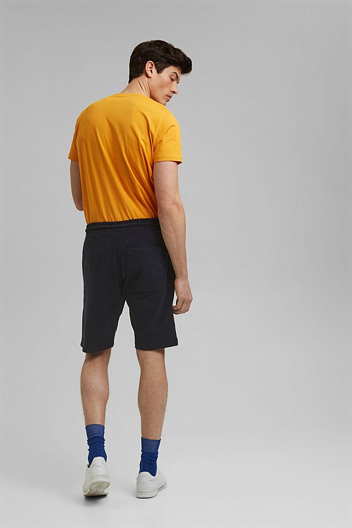 Sweat-Shorts aus 100% Organic Cotton, NAVY, detail image number 3