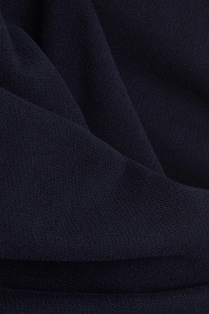 Sweat-Shorts aus 100% Organic Cotton, NAVY, detail image number 4