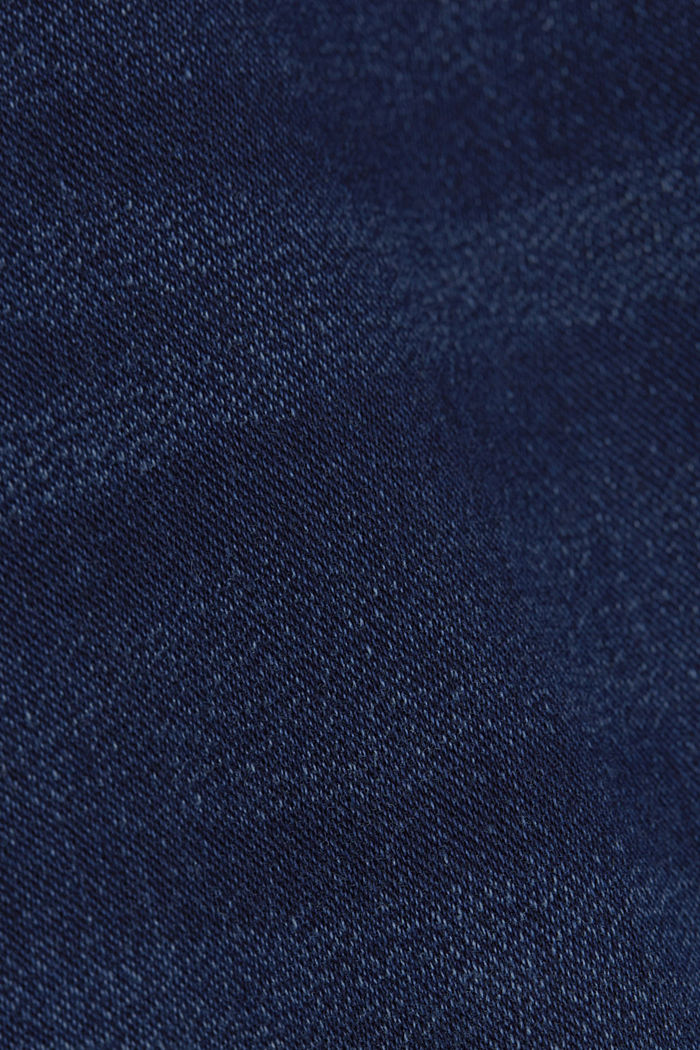 Denim-Shorts in Jogger-Qualität, BLUE DARK WASHED, detail image number 5