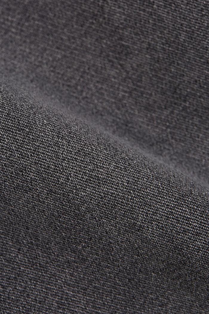 Pantalones vaqueros cortos en tejido deportivo, GREY MEDIUM WASHED, detail image number 5