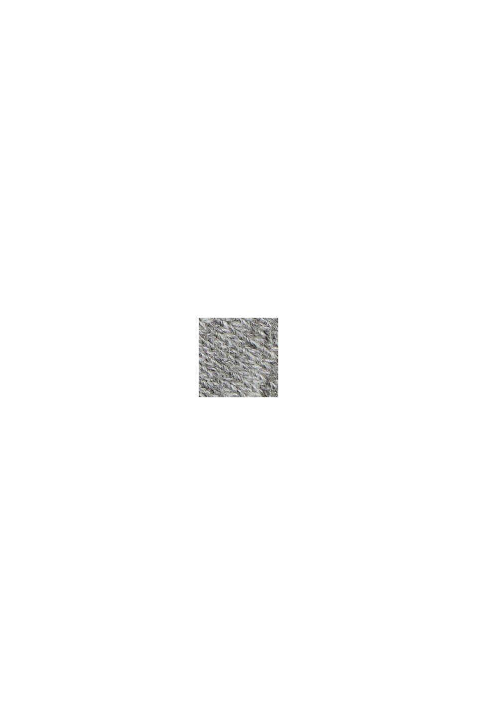 Sweatshort van een katoenmix, MEDIUM GREY, swatch