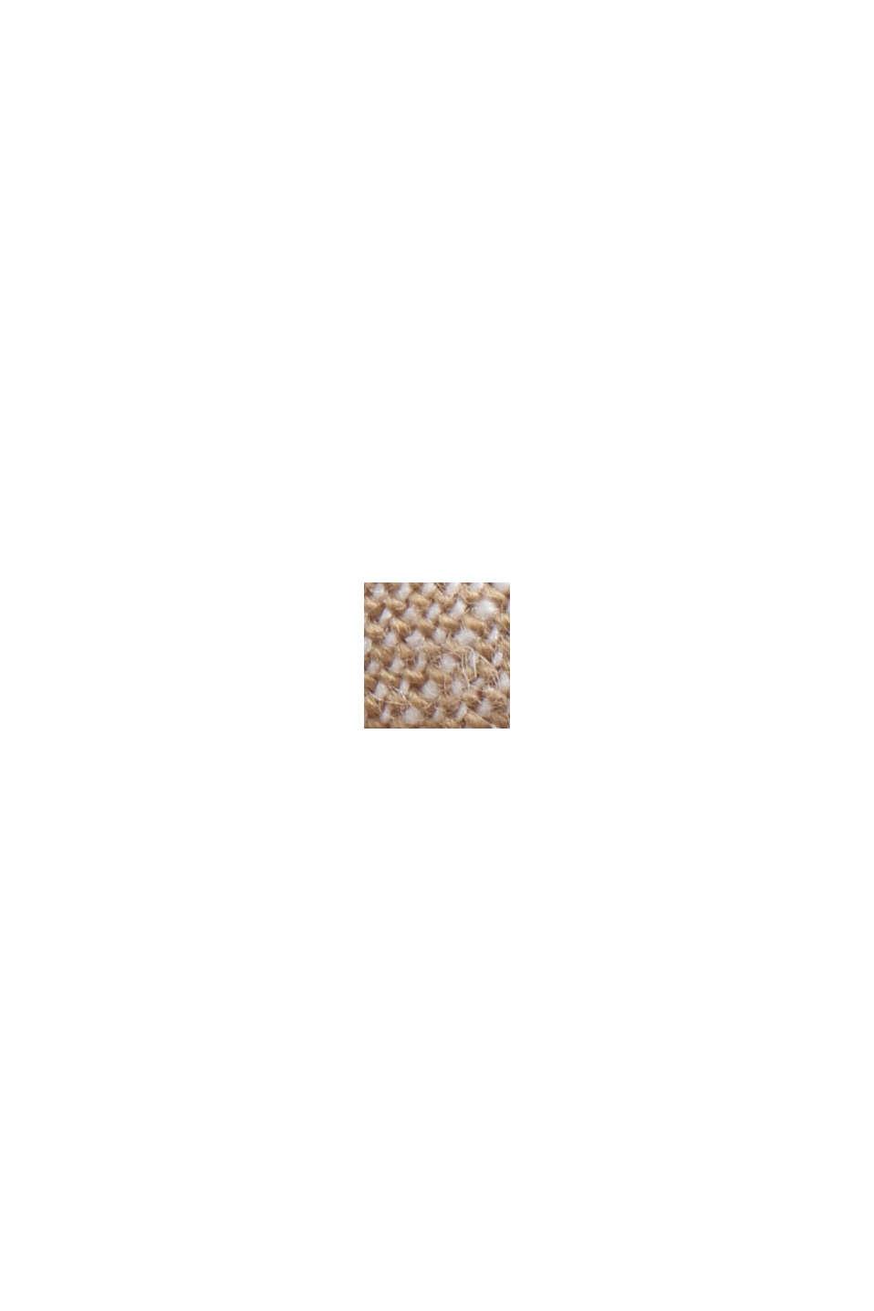 Linnen/biologisch katoen: buttondownoverhemd, BEIGE, swatch