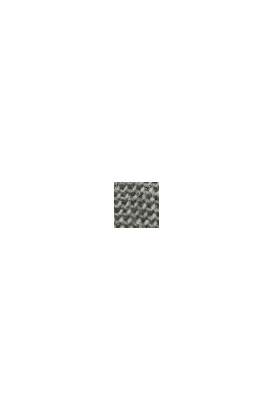 Linnen/biologisch katoen: buttondownoverhemd, LIGHT KHAKI, swatch