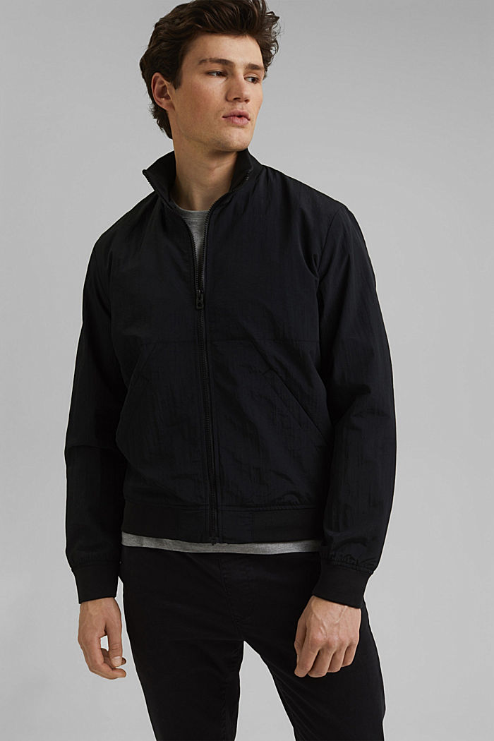 Outdoor jacket, BLACK, detail image number 0
