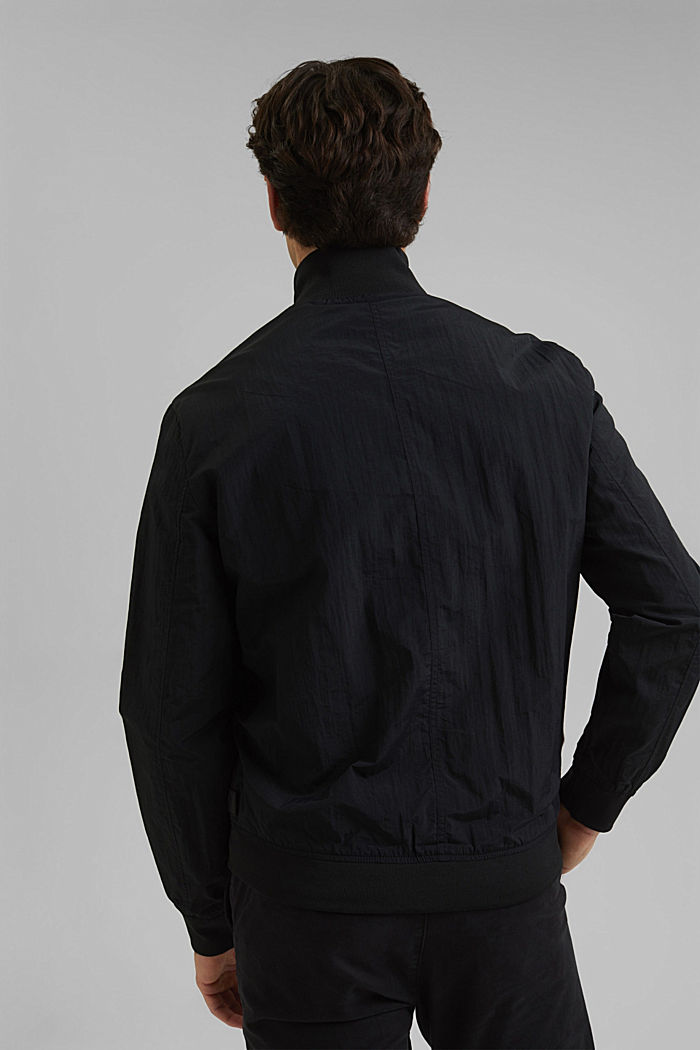Outdoor jacket, BLACK, detail image number 3