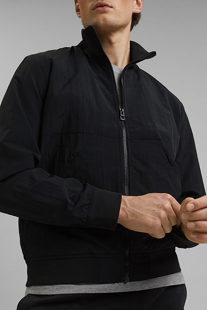 Outdoor jacket, BLACK, detail image number 2