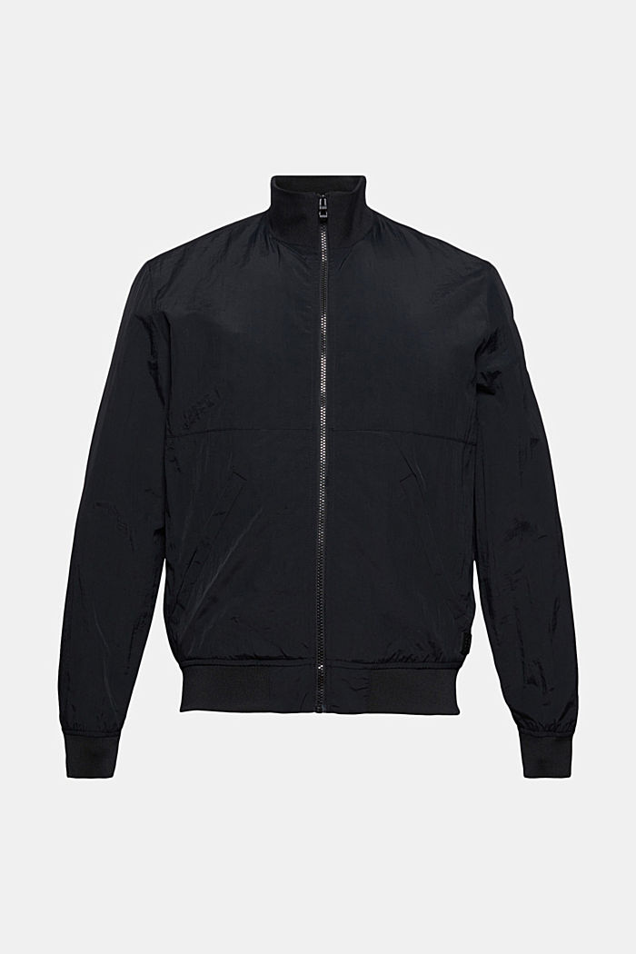 Outdoor jacket, BLACK, detail image number 5
