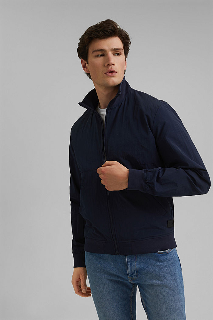 Outdoor jacket, NAVY, detail image number 0
