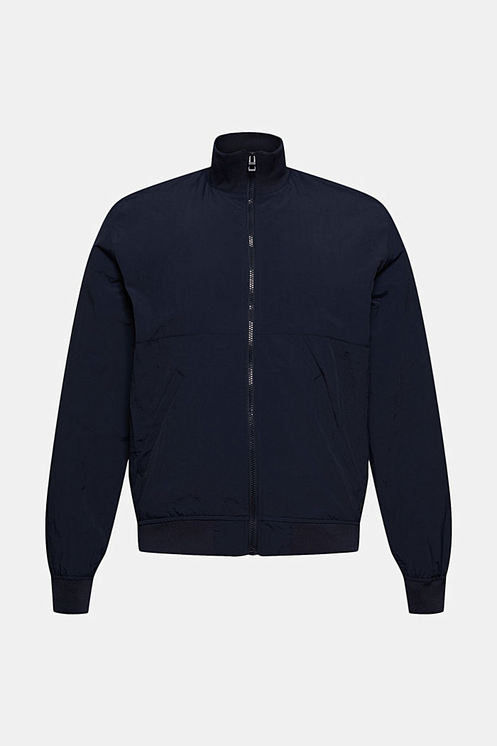Outdoor jacket, NAVY, detail image number 6