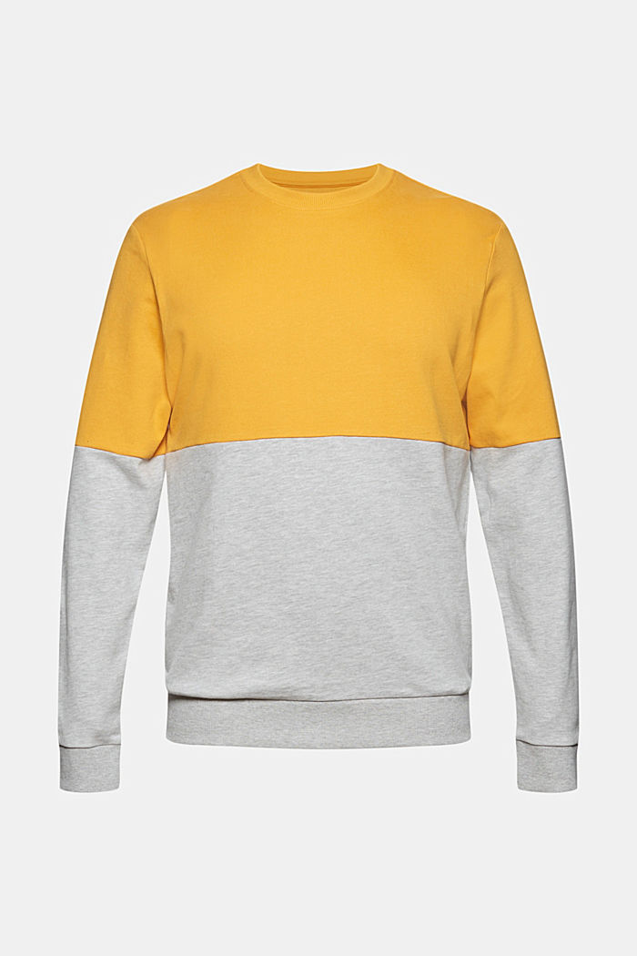 Colorblock-Sweatshirt, Organic Cotton