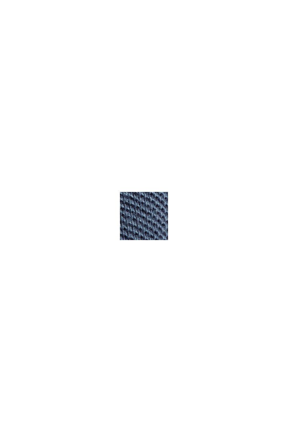 Polo en maille piquée 100% coton bio, NAVY, swatch