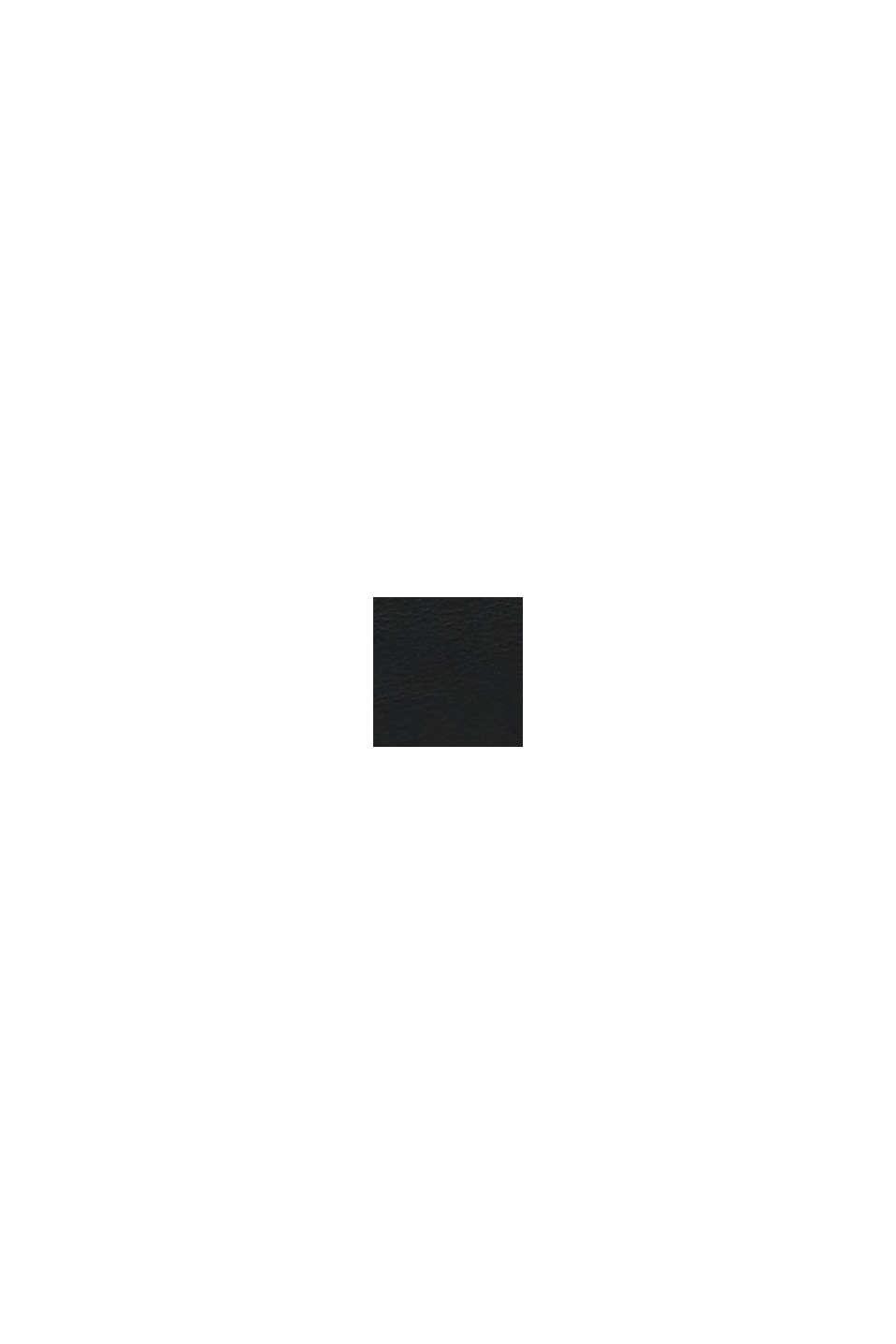 Vegansk: Shoppingväska i skinnlook, BLACK, swatch
